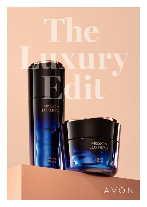 Avon brochure campaign 24 - The Luxury Edit