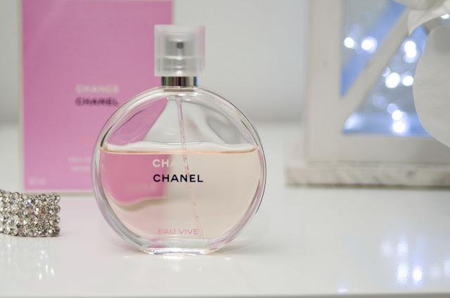 perfumy, Chanel Chance, oryginał, butelka