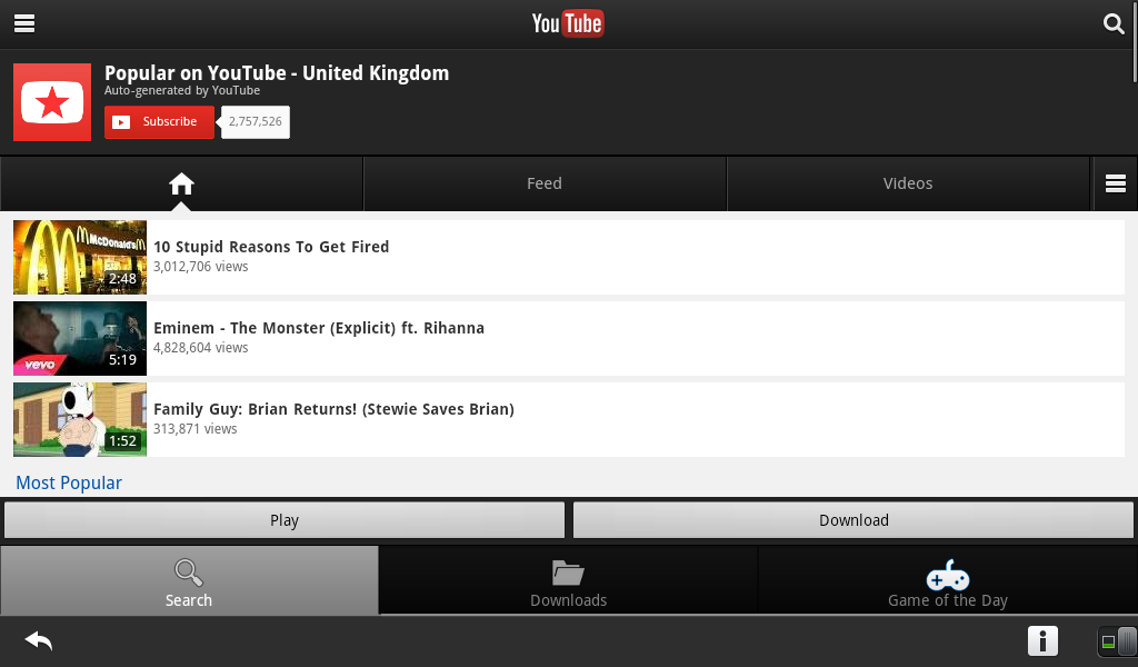 youtube downloader for blackberry free