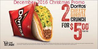 free Taco Bell coupons for december 2016