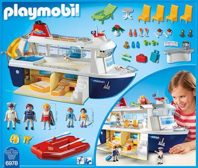 JUGUETES - PLAYMOBIL Family Fun  6978 Crucero : Barco  Producto Oficial | Edad: 6-12 años  Comprar en Amazon España