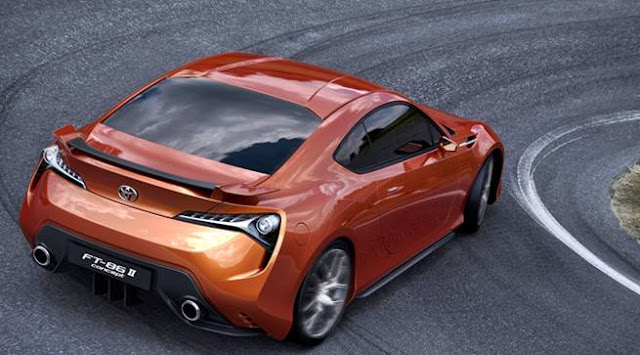 2018 Toyota FT-86 11 Concept