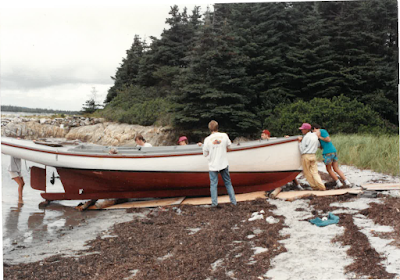 Building the Folkboat