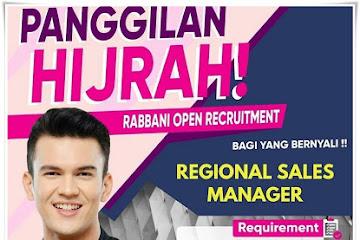 Lowongan Kerja Regional Sales Manager Rabbani