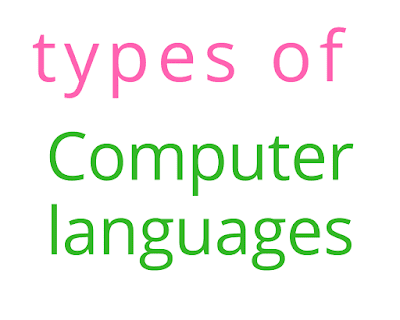 Types of Computer languages in hindi
