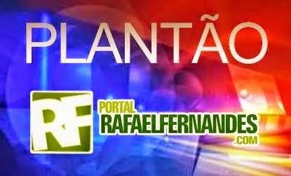 Jovem tem celular tomado em assalto no Centro de Rafael Fernandes