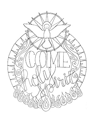 graphic regarding Come Holy Spirit Prayer Printable identified as Seem in the direction of Him and be Radiant: Occur, Holy Spirit Pentecost