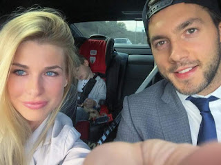 Kris Letang and Wife Catherine LaFlamme