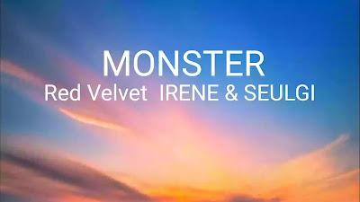 MONSTER Lyrics (In English) - Irene & Seulgi | Red Velvet