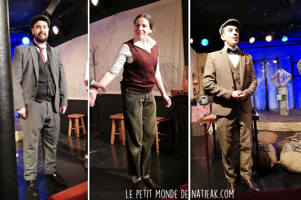 Troupe de théâtre parisienne Les Califourchés das Le Phare de Longstairs