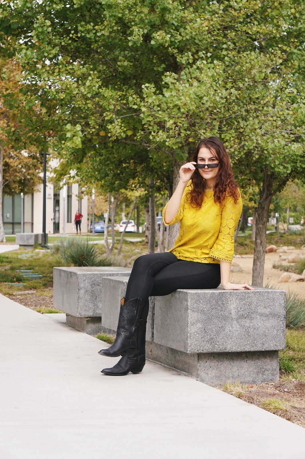 Downtown San Diego Travel influencer and California blogger shares her self-employment journey as a blogging coach, social media consultant. Vista Library, California