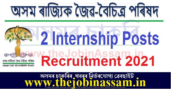 Assam State Biodiversity Board Recruitment 2021: