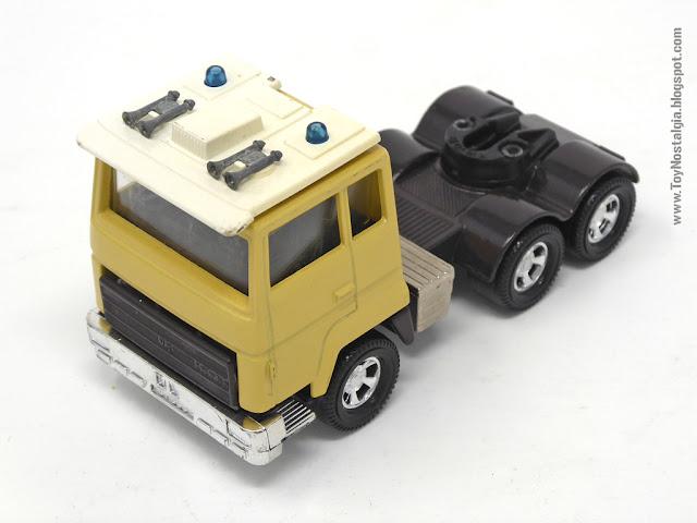 MATCHBOX - Super Kings - Construction Bridge Layer  K-44 Cabeza tractora - Made in England - 1981 (Lesney England)