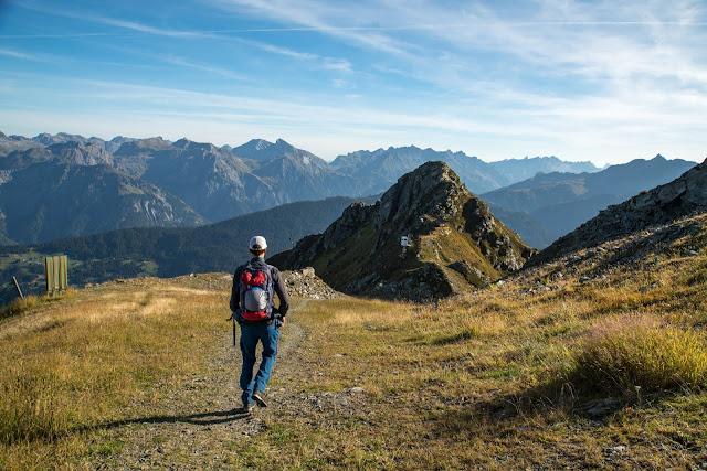 Seetalwanderung und Klettersteig Hochjoch  Silvretta Montafon 02