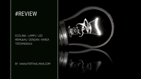 Ecolink: Lampu LED Memukau dengan Harga Terjangkau