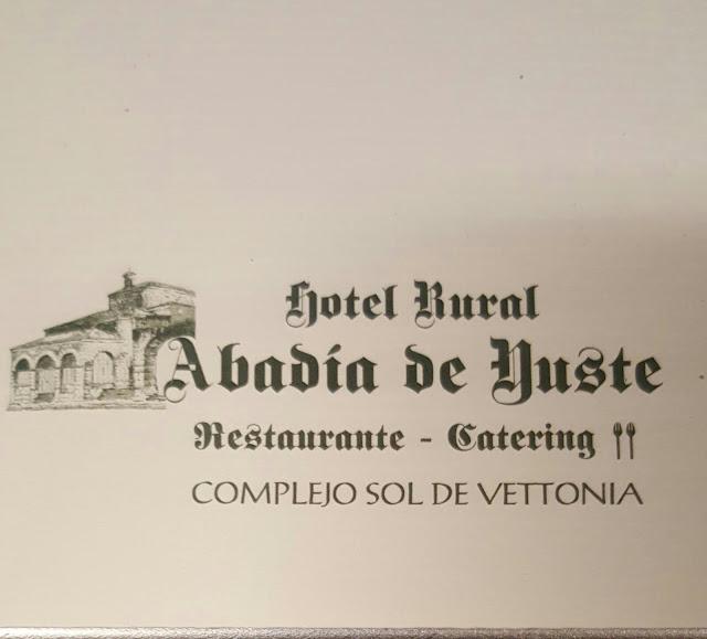 Hotel Rural Abadia de Cuacos de Yuste, #Extredanza 2016 #AndaluzaSoul