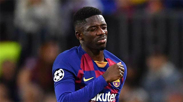 Dembele would be able to play in UCL If he recovers in time