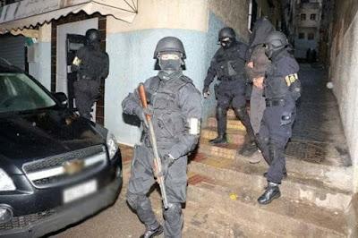 Vidéo- Maroc- Des terroristes arrêtés à Dar Bouazza et Chefchaouen