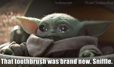 Baby Yoda Sad - Tinalicious
