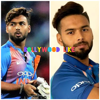 Top 10 most searched indian celebrity no.6 Rishabh pant