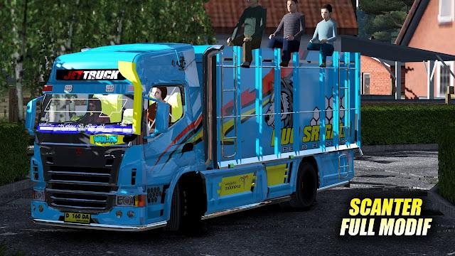 Mod Mitsubishi Scanter Euro Truck Simulator 2