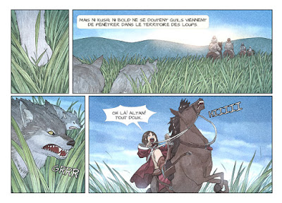 Kushi tome 2 - Kushi et Bold entrent dans le territoire des loups