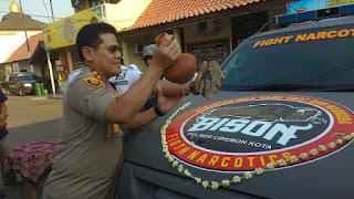 Polres Cirebon Kota Nyatakan Perang Terhadap Narkoba Dengan Membentuk Tim Khusus (BISON)