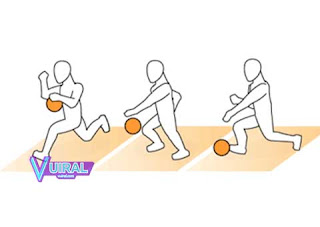 Teknik Dasar Permainan Bola Basket Dribble Tinggi