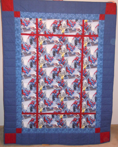 Light-hearted Quilter Quilts Little Boys