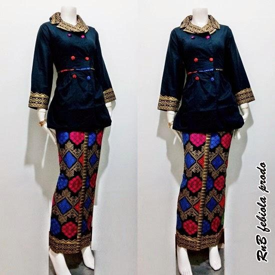 Baju Setelan Batik Wanita: Model Baju Batik Wanita Modern Untuk Kerja 2015 Baju