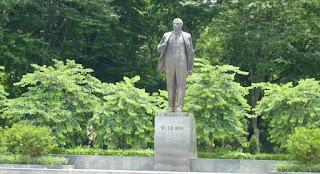 Estatua de Lenin en Hanoi.