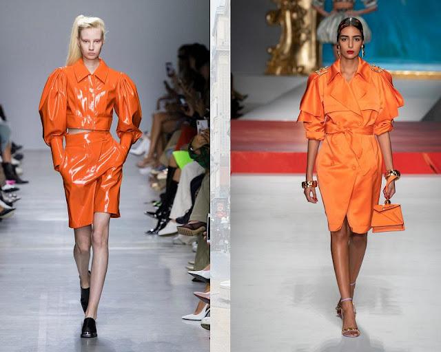 одежда в сочном оранжевом цвете 2