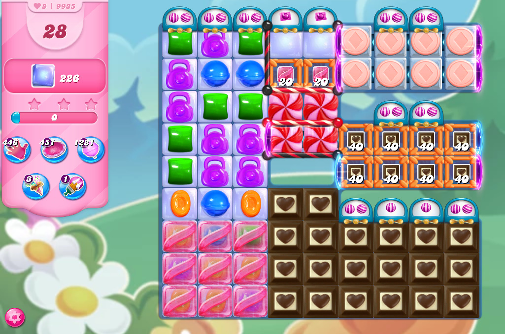 Candy Crush Saga level 9935