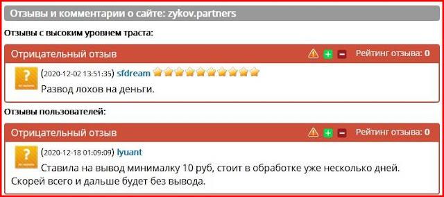zykov.partners – Отзывы
