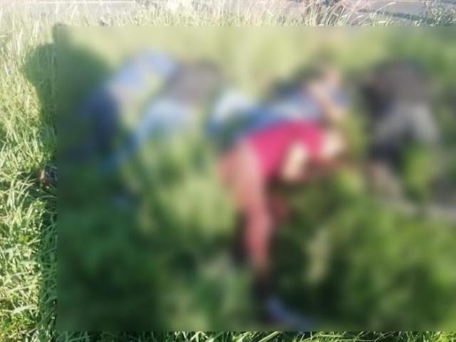 El CJNG asesinó a 7 hombres inocentes sobre la carretera Jerécuaro - El Fresno, eran albañiles, se dirigían a trabajar a Querétaro