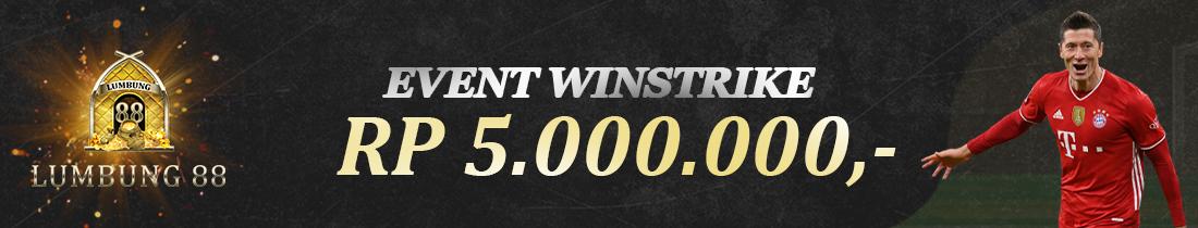 EVENT WIN STREAK BOLA JALAN HADIAH RP 5.000.000,-