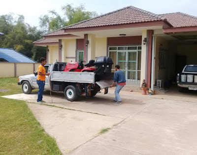 Phuket Koh Samui Island Lawn Mower Delivery