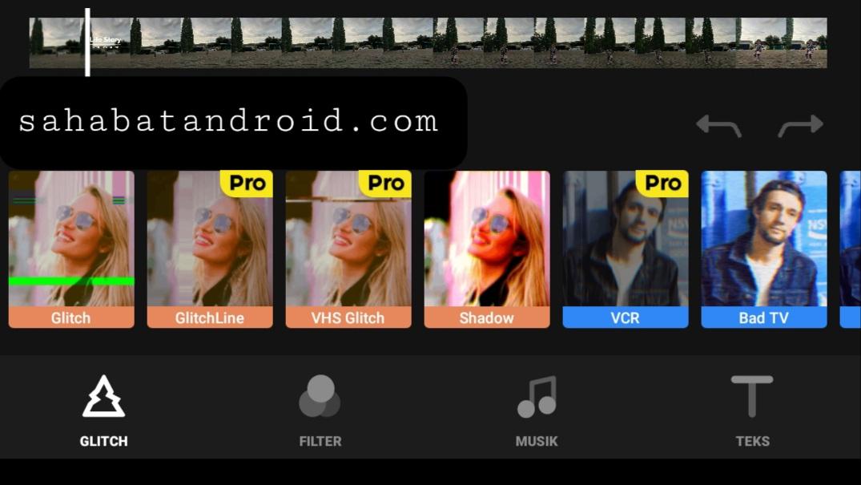 fitur glitchcam pro terlengkap