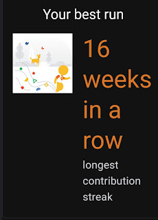 AvianQuests Best Run 16 Weeks Longest Contribution Streak