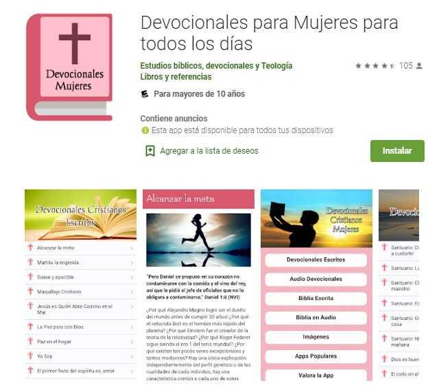 Descargar aplicaciones cristianas