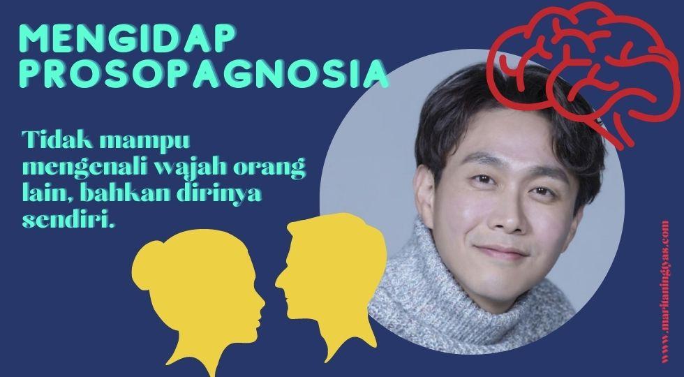 oh jung se mengidap prosopagnosia