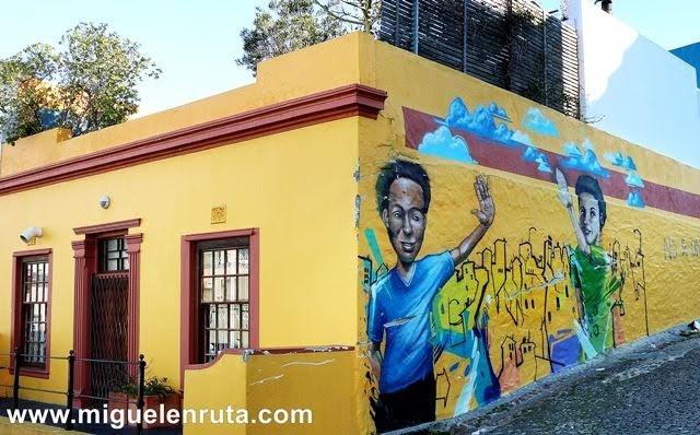 Mural-Bo-Kaap-Ciudad-del-Cabo