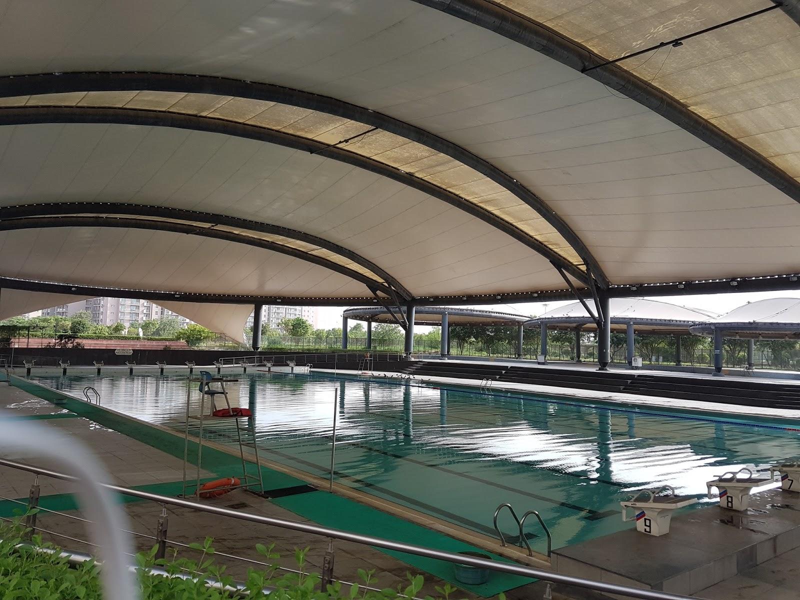 Cwg Sports Complex Akshardham Swimming Pool Review Fee Membership Structure Rd Singh