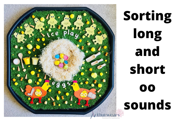 phonics: sorting long and short oo sounds