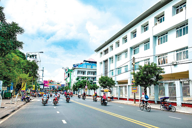 giá đất Long Xuyên tăng mạnh trong năm qua