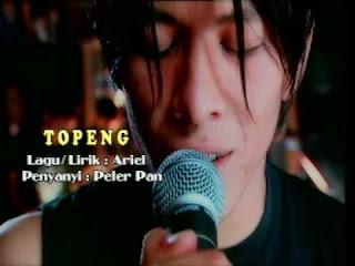 chord gitar peterpan Topeng