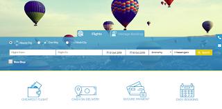الصفحة الرئيسية لموقع فلاى جو المتخصص فى حجز تذاكر الطيران بأقل الأسعار فى الأردن
