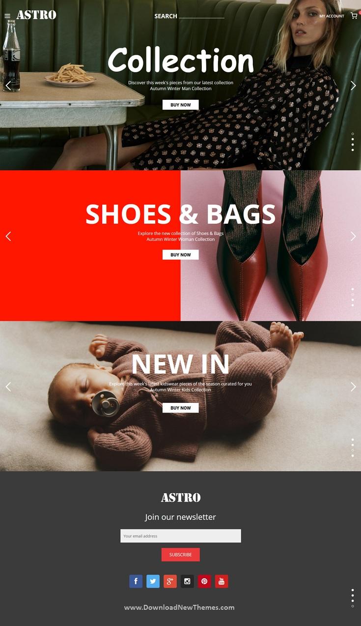 Fashion eCommerce Shopping Theme