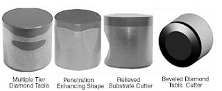 PDC Cutters Design Shape