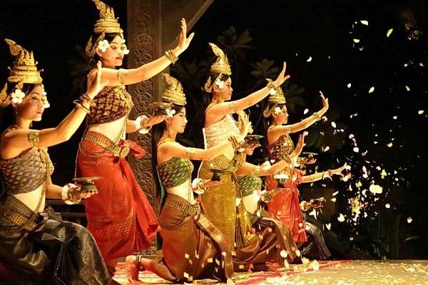Điệu múa truyền thống của người Thái Lan